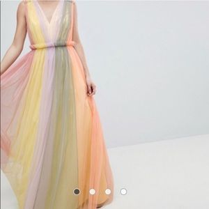 ASOS Rainbow Dress